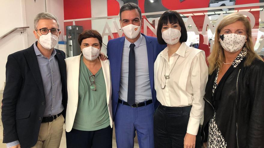 Amparo Marco destaca la era de recuperación económica en su primera ejecutiva del PSOE