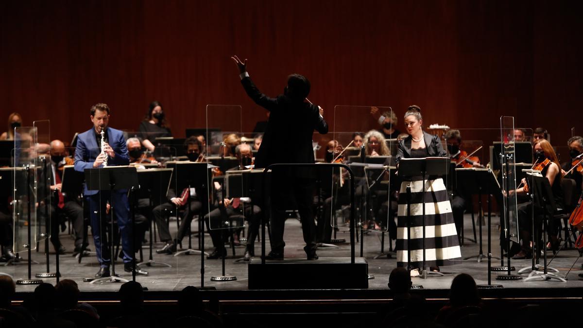 Un momento del concierto de la Orquesta de Córdoba