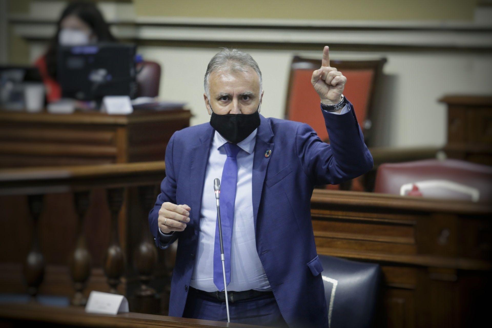 Pleno en el Parlamento de Canarias | Intervención del presidente Ángel Víctor Torres