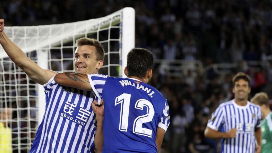 La Real abre la Europa League goleando al Rosenborg