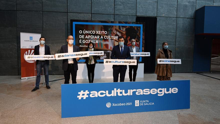 A Xunta prevé incrementar os aforos culturais se mellora a situación sanitaria