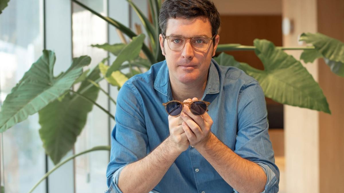 Sergio Navarro es CEO y fundador de la marca de gafas Miller & Marc.