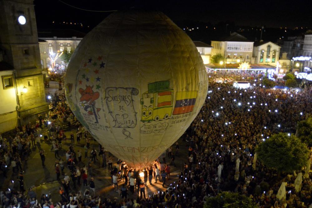 Lanzamiento del Globo de Betanzos 2017