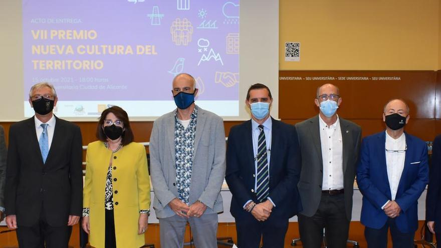 """Los geógrafos de España premian en Alicante a """"El escarabajo verde"""" y la Fundación Santa María de Albarracín"""