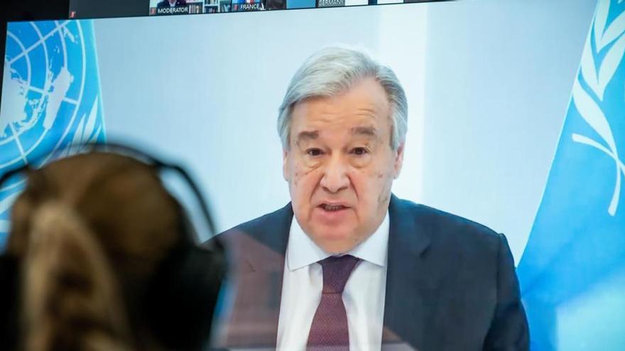 Guterres llama de nuevo a un armisticio global como puntal contra el coronavirus