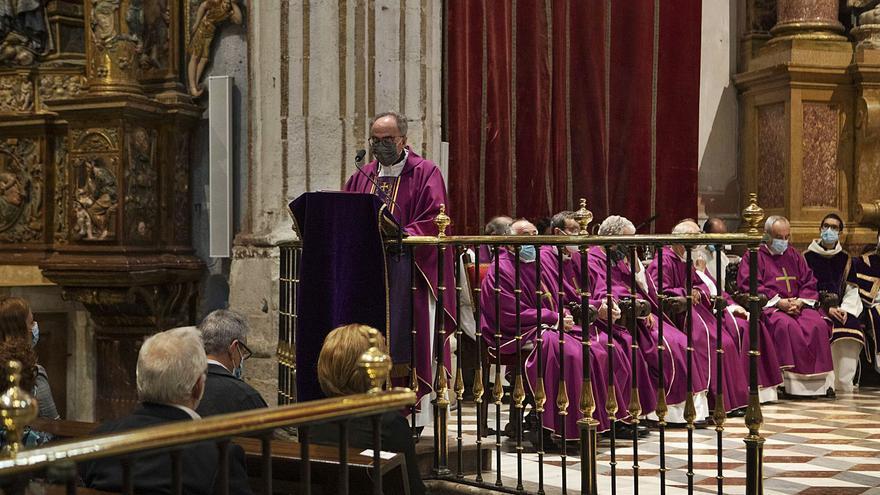Un año de la muerte del obispo de Zamora Gregorio Martínez