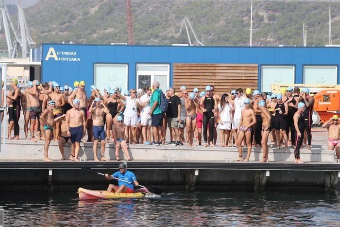 XXVIII Travesía a Nado Puerto de Cartagena-Trofeo Carthagineses y Romanos