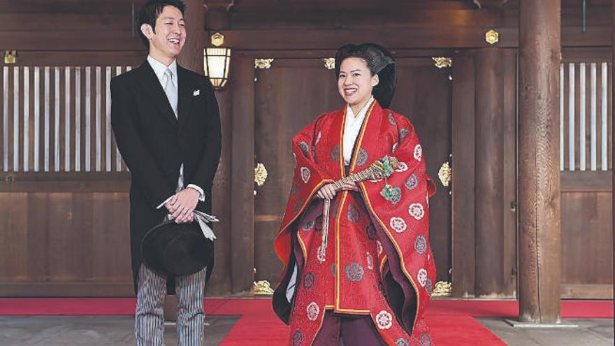 La princesa Ayako renuncia por amor