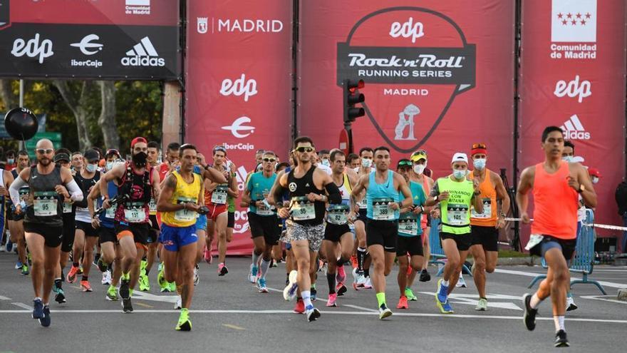 El Maratón de Madrid congrega a 30.000 corredores