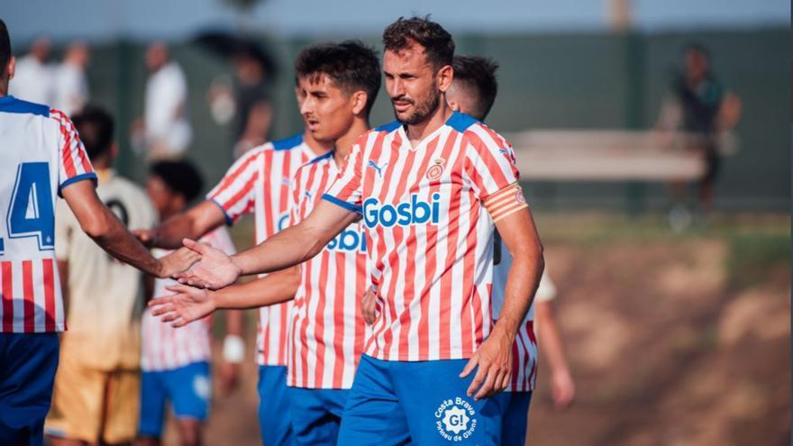 El Girona guanya a l'Espanyol B en el segon test de pretemporada (3-1)