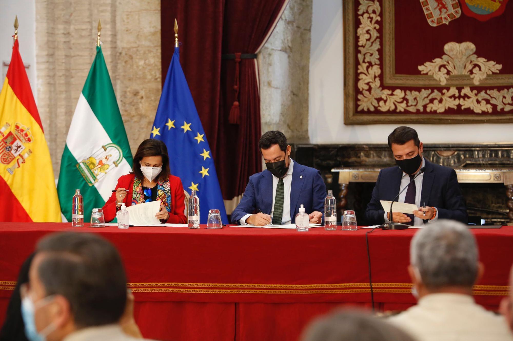 Primer paso en firme para hacer realidad la Base Logística del Ejército en Córdoba