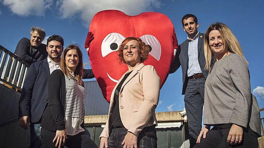 Sallent i Cardona encaren l'estudi de salut liderat per Valentí Fuster