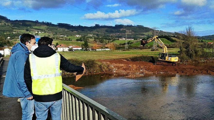 Villaviciosa finaliza la obra del área del Puente Huetes, clave para evitar inundaciones