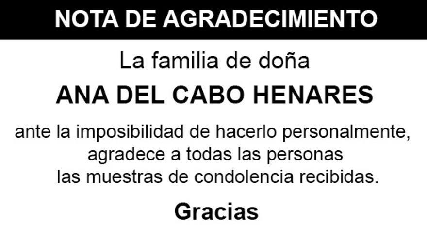 Nota Ana del Cabo Henares