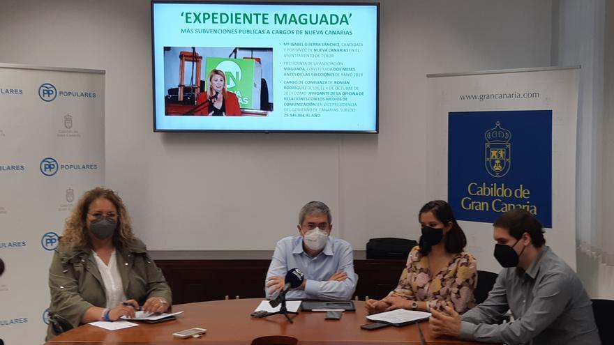 El PP denuncia subvenciones por 136.000 euros a la concejala de NC Isabel Guerra