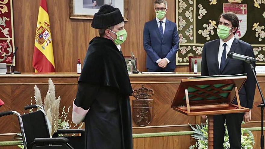 Nuevo rector en la Universidad de León