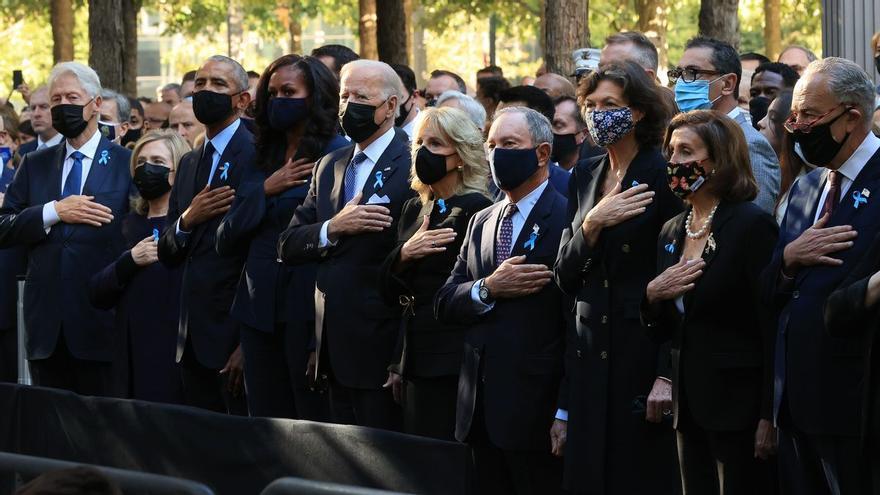 Els EUA commemoren el 20è aniversari dels atemptats de l'11-S amb un record per les 2.977 víctimes