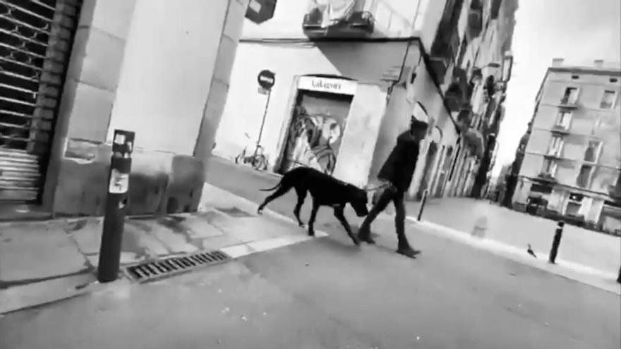 La Barcelona vaciada por el coronavirus de Isabel Coixet y Rosa Maria Sardà