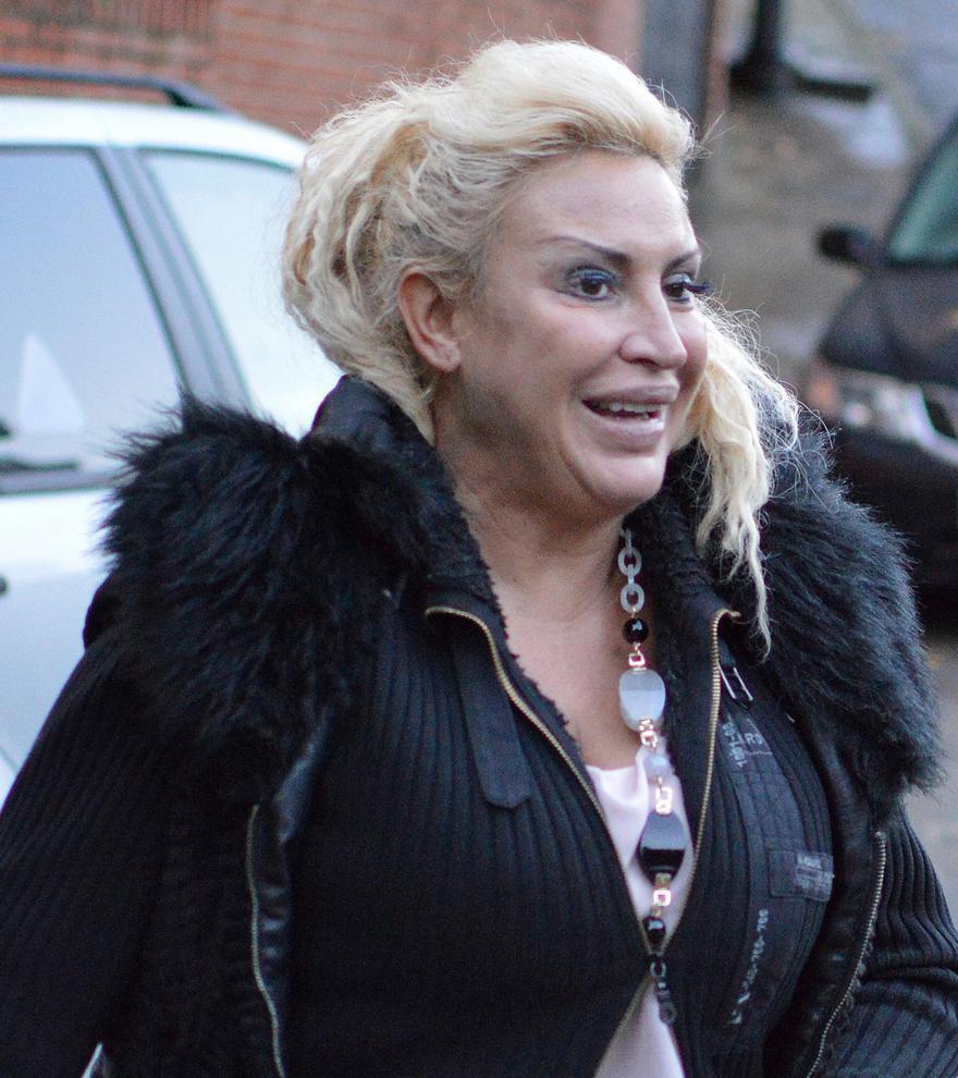 Raquel Mosquera, ingresada por un brote psicótico