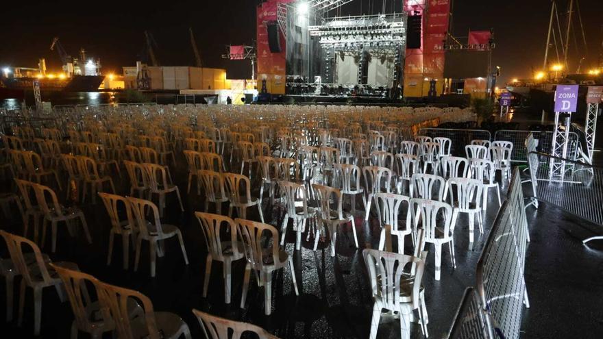 Suspendido por lluvia el concierto de El Barrio en el SOM Festival