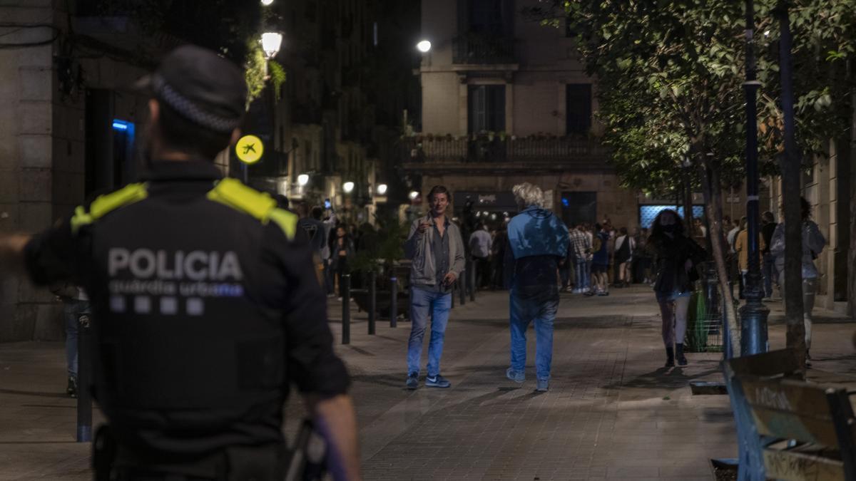 Agents de la Guàrdia Urbana de Barcelona.