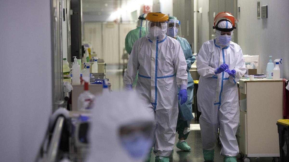 La labor de los sanitarios de Castellón ha sido esencial ante las circunstancias excepcionales vividas a causa de la pandemia.
