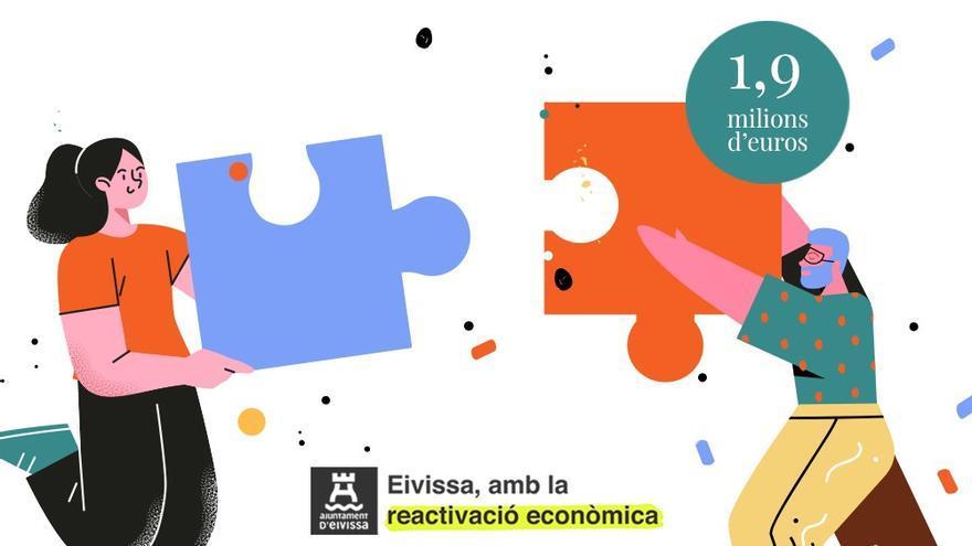 El Ayuntamiento de Ibiza destina 1,9 millones de euros a empresas y autónomos
