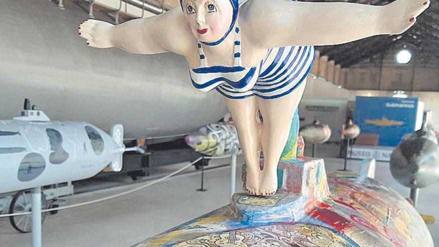 Yellow submarine y  arte lituano