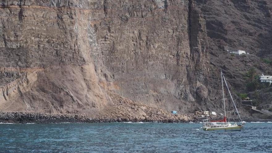 La Gomera pide declarar la emergencia en Argaga para intervenir en el talud