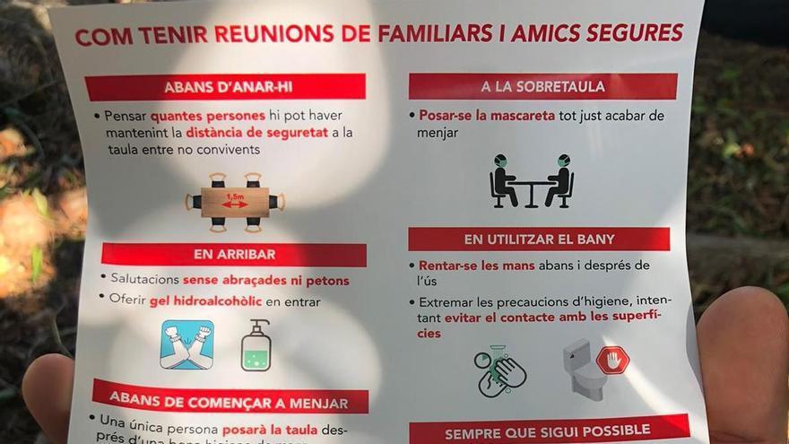 Santa Maria da instrucciones para una reunión familiar en tiempos de coronavirus