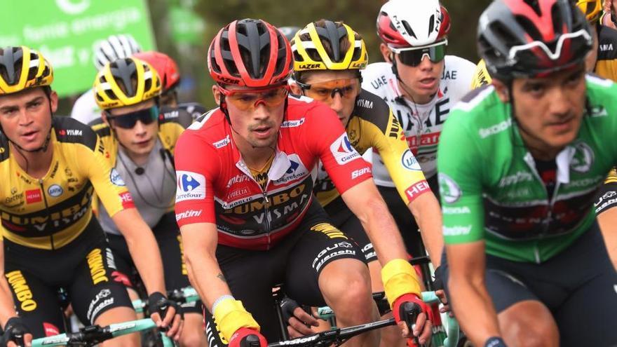 Sigue en directo la etapa de hoy de la Vuelta a España