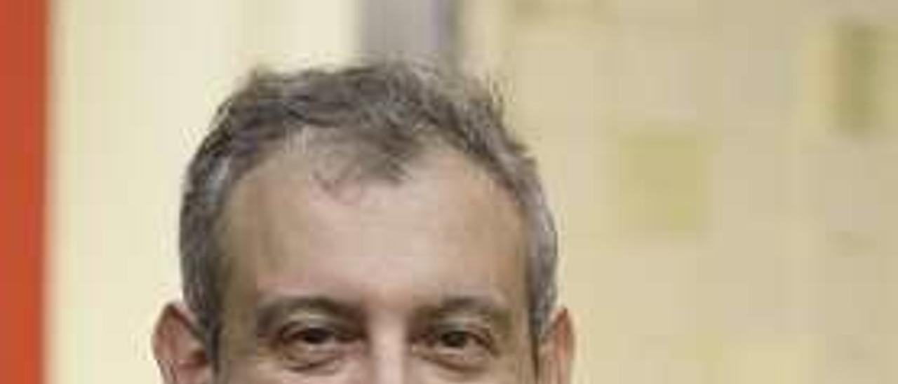 David Martínez, en el Colegio de Economistas de Asturias.