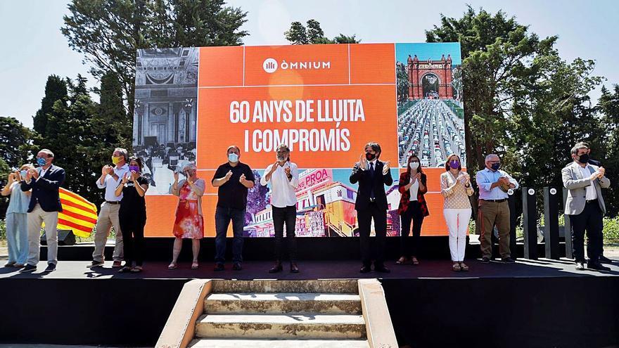 Òmnium Cultural crida a la unitat  i la reconciliació per «vèncer» l'Estat
