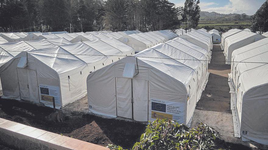 CC pide el cese de Grande-Marlaska y Escrivá por los campamentos de migrantes