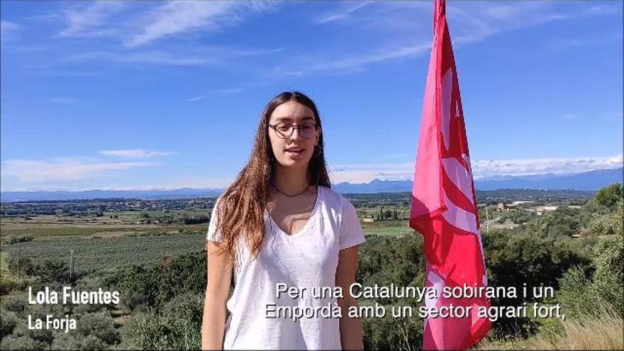 La joventut de La Forja defensa el sector primari en una campanya