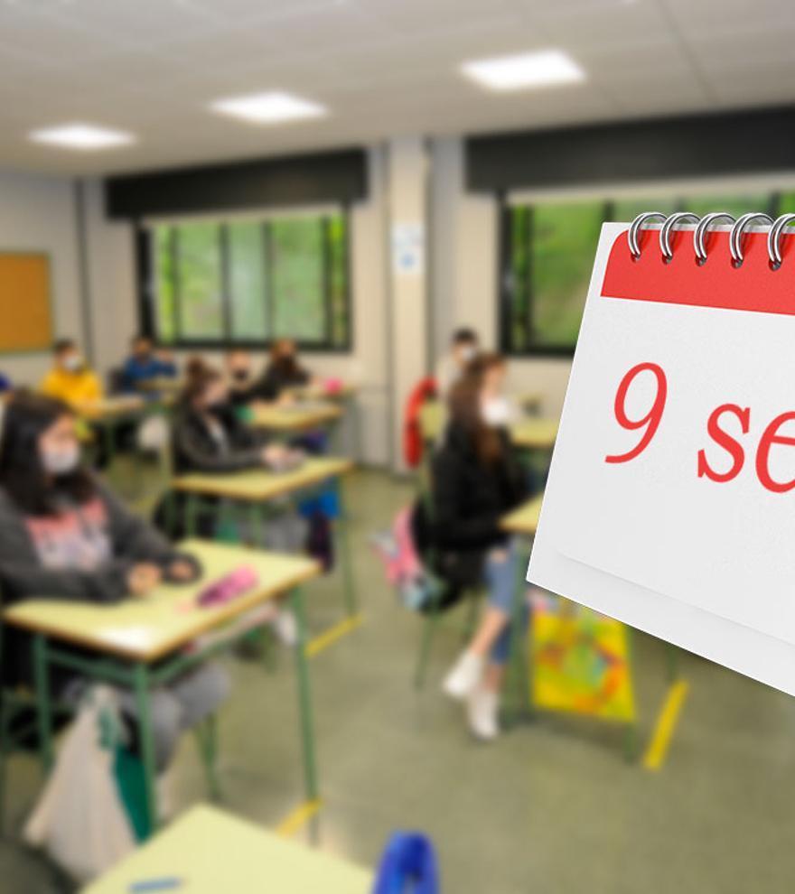 Así queda el calendario escolar en Galicia 2021-2022