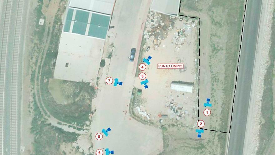 La Diputación invierte 102.000 euros en mejorar una instalación para la recogida de residuos en Arriate