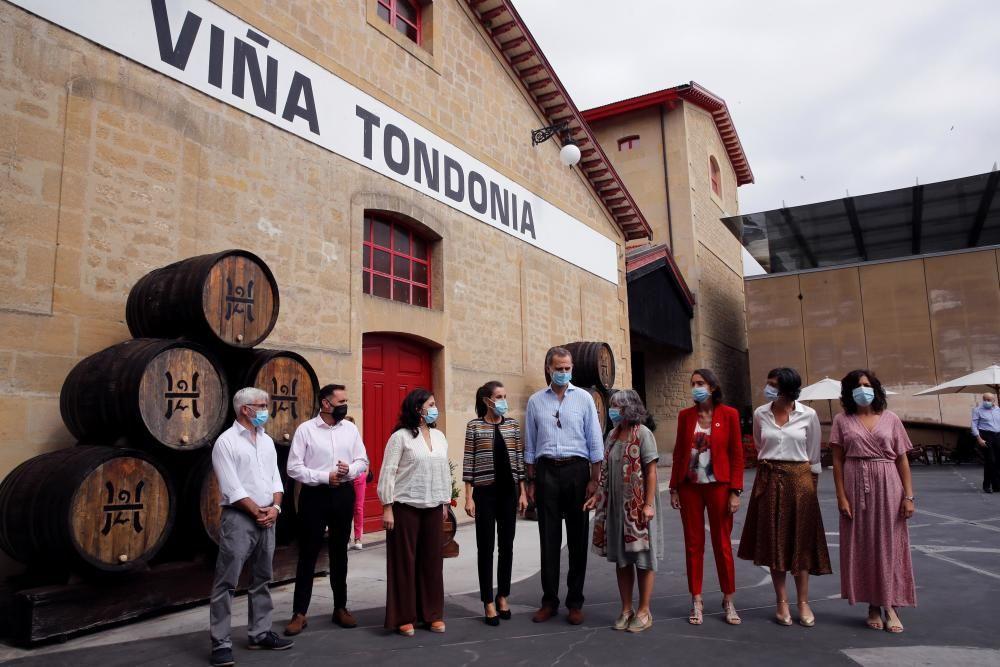 Los reyes visitan La Rioja