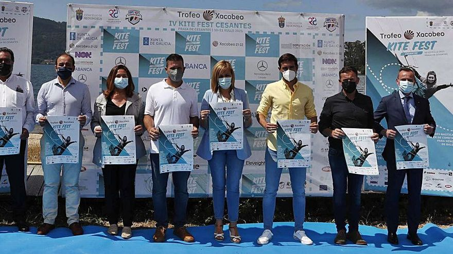 El Trofeo Xacobeo de Kite reunirá a los mejores 'riders' en Cesantes