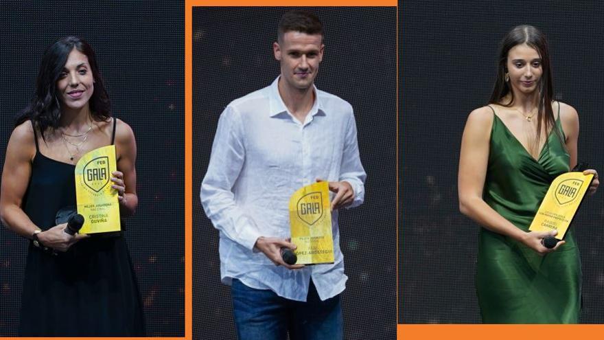 Color taronja en los premios del baloncesto español