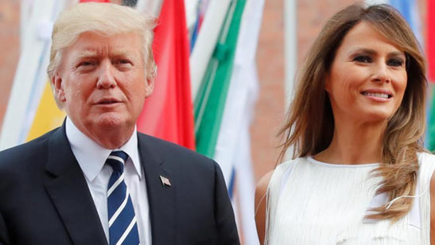 Los disturbios trastocan la agenda de Melania Trump