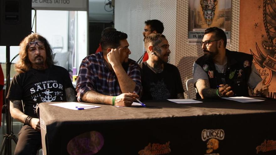 La tinta y la imaginación se unen en un concurso de tatuajes en Cartagena