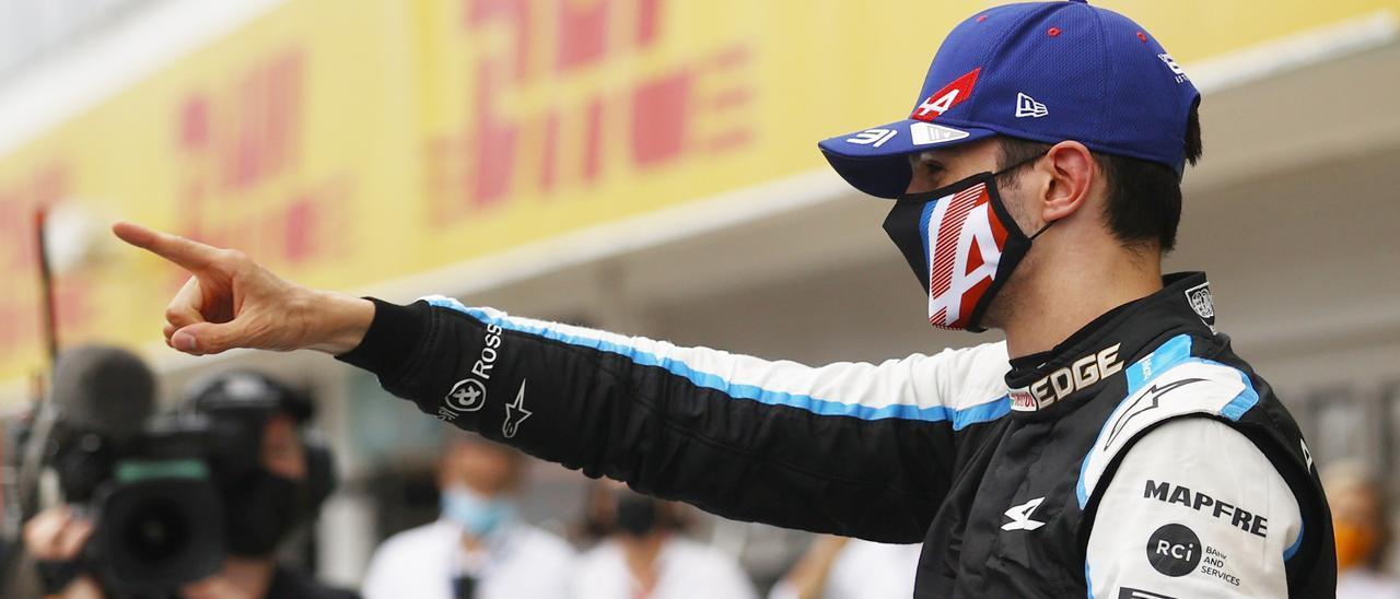 Ocon se lleva la victoria en una carrera caótica en el GP de Hungría