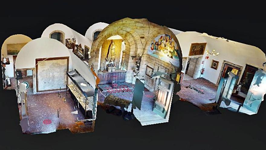 Disponible la aplicación web para visitar de forma virtual el castillo de San Antón