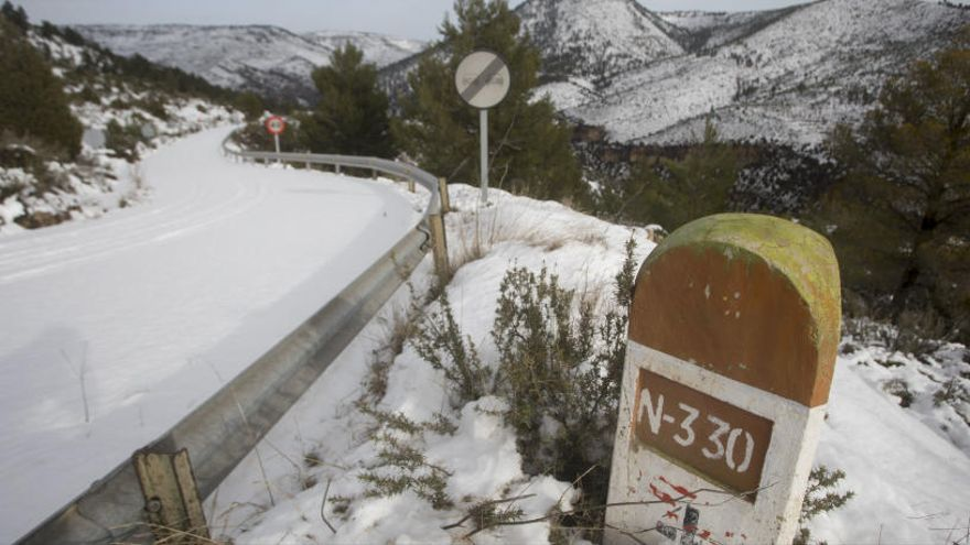 Estas son las carreteras cortadas hoy por el temporal