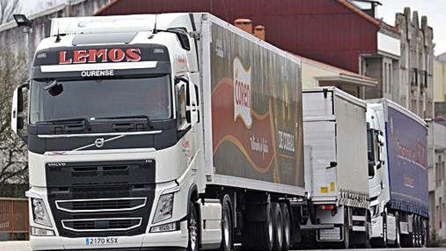 Galicia necesita más de 3.000 camioneros ya para cubrir la demanda en el transporte