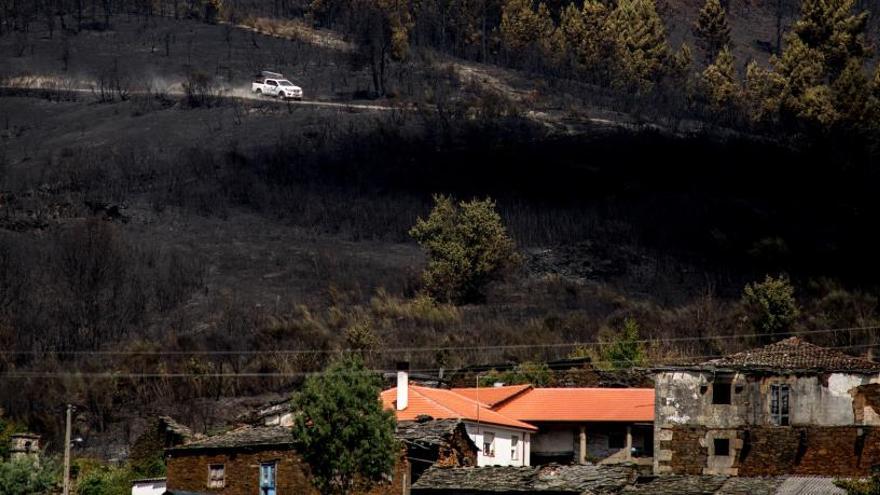 Controlados los incendios forestales de Lugo y Ourense, salvo uno en Begonte