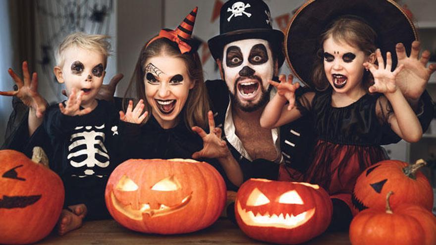 Maquillajes de Halloween para niños y adultos: cinco ideas escalofriantes