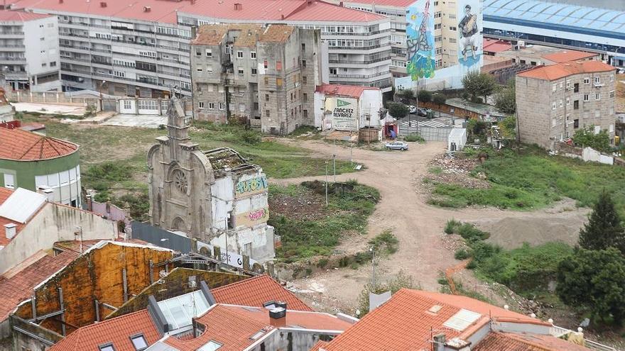 El Concello aprueba provisionalmente la urbanización del barrio do Cura