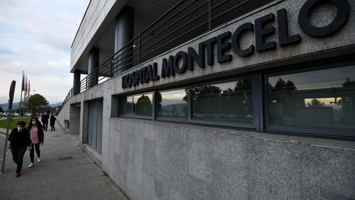 Hospital de Montecelo en Pontevedra